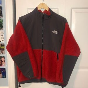 Red NorthFace Jacket